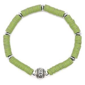 Invicta Mens Rubber Bracelet Green NWT